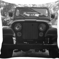 Jeep cj7 Throw Pillow For All You Jeep People Like Me!!