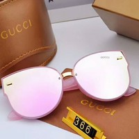 GUCCI men and women couple models color film polarized sunglasses F-A-SDYJ NO.3