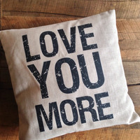 Pillow Talk Linen Pillow Covers