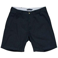 """The Regatta 8"""" Short Flat Front in Colonial Navy by Southern Marsh"""