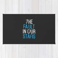 The Fault in Our Stars Area & Throw Rug by IA Apparel