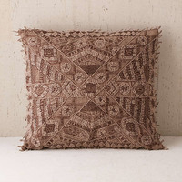 Aurora Embroidered Pillow - Urban Outfitters