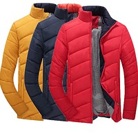 New Winter Jacket Men Coats Fashion Outerwear Mens Casual Outdoors Jacket Male M-5XL