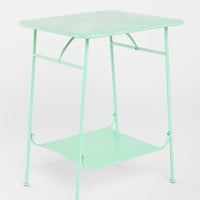 Factory Side Table in Mint - Urban Outfitters