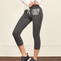 Cropped Fleece Legging