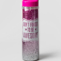 Be Awesome 18oz Water Bottle