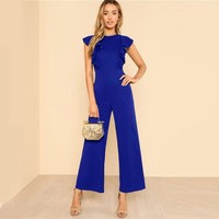 BELLA BLUE JUMPSUIT