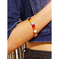 Colorful Honeycomb Bead Bracelet