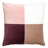 H&M Color-block Cushion Cover $12.99