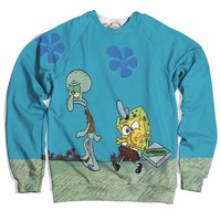 Krusty Krab Pizza Sweater