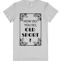The Great Gatsby - Old Sport 1974-Female Silver T-Shirt