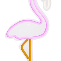 Flamingo Neon LED Wall Small