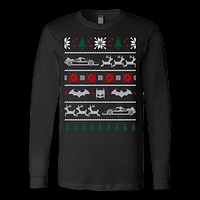 Batman ugly christmas sweater xmas