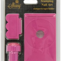 SHANY Stamping Nail Art Set (Nail Art Image Plate Holder, Scraper, Stamper):Amazon:Beauty