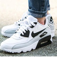 NIKE AIR MAX 90 fashion ladies men running sports shoes sneakers shoes