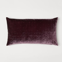Velvet Cushion Cover - Burgundy - Home All | H&M US