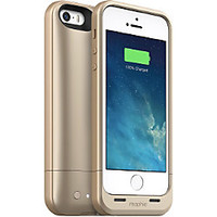 mophie Juice Pack Air Charging Case For iPhone 5 And iPhone 5s Gold by Office Depot & OfficeMax