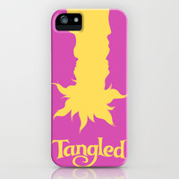 Tangled iPhone Case by Citron Vert | Society6