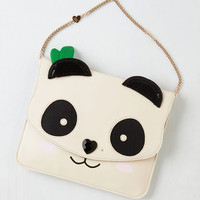 Quirky Panda One, and a Two Bag by Betsey Johnson from ModCloth