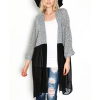 Long Cardigan Women Sweater 2016 Chic Lady Winter Knitted Cardigans Tops Plus Size Casual Women Knitted Sweaters