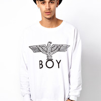 BOY London | Boy London Sweat with Eagle Print at ASOS