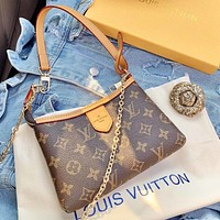 LV simple mini female wild mahjong bag shoulder messenger bag