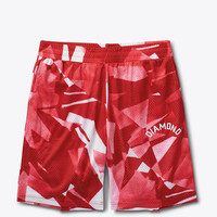 Diamond Supply Co. - Simplicity Basketball Shorts - Red