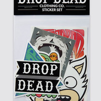 Mind Games Sticker Pack, Drop Dead Clothing