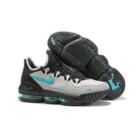 atmos x Nike LeBron 16 Low ¡°Clear Jade¡± Basketball Shoes