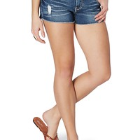 Baked & Frayed Jean Short