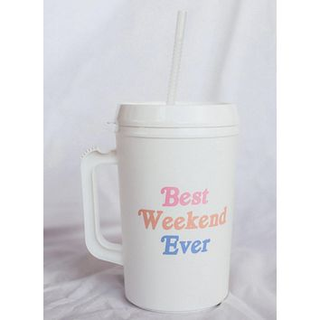 Best Weekend Ever Mug