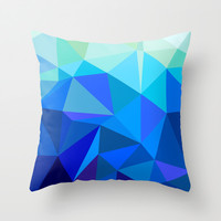 Geometric No.21 Throw Pillow by House of Jennifer