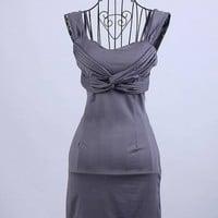 Dew Backpack Hip Tight Dress