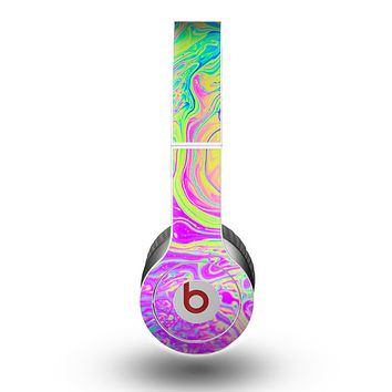 The Neon Color Fushion Skin for the Beats by Dre Original Solo-Solo HD Headphones
