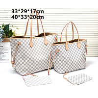 female classuc large capacity shopping bag shoulder bag two-piece
