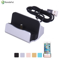Original Sync Data USB Cable Charger Dock Stand Station Cradle Charging Dock Station For iPhone 8 Pin 5 5s 6 6s se 5c Plus