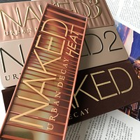 Naked 5 Eye shadow  (naked1 naked2 naked3 naked heat ) Eyeshadow Palette