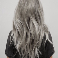 Silver Human Hair Extensions