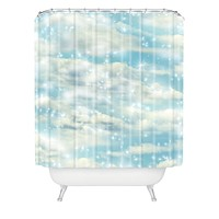 Lisa Argyropoulos Dream Big Shower Curtain