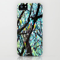 Dreaming In Blue iPhone & iPod Case by Cindy White Photo Art