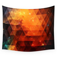 Society6 Galaxies II Wall Tapestry