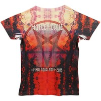 Motley Crue  Final Tour 2014/2015 Junior Top Multi