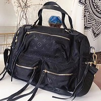 LV Louis Vuitton Women Men Fashion Shoulder Bag Crossbody Bag Handbag Black