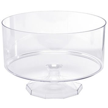Clear Plastic Trifle Candy Container - Large