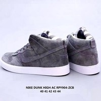 Nike Dunk High AC Vintage Casual Sports Skateboard