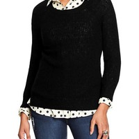Old Navy Womens Shaker Stitch Sweaters