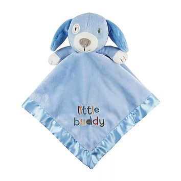 Blue Puppy Mini Security Blanket