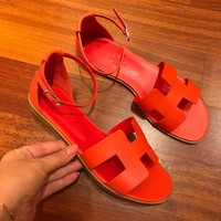 Hermes Flat bottom Sandals