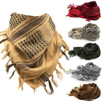100% Cotton  Military Arab Scarf Men Winter Windproof Scarf Muslim Hijab Tactical Desert Arabic Men Women Scarves = 1957876164