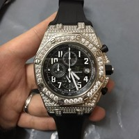 cc spbest AP automatic chrono full stones case rubber